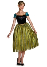 Anna Coronation Frozen Deluxe Woman Costume