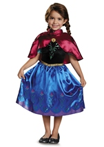 Anna Travelling Girls Princess Costume