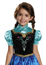 Kids Anna Travelling Girls Princess Costume