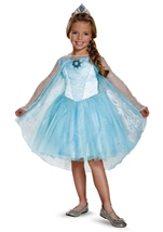 Elsa Frozen Tutu Prestige Girls Costume
