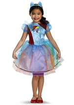 Rainbow Dash Girls Deluxe Pony Costume
