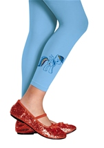Rainbow Dash Girls Tights