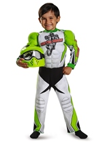 Motocross Toddler Muscle Boys Halloween Costume