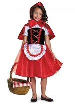 Kids Little Red Riding Hood Girls Costume
