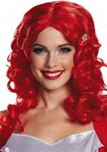 Strawberry Shortcake Deluxe Woman Wig