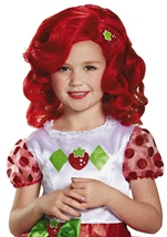 Strawberry Shortcake Girls Wig