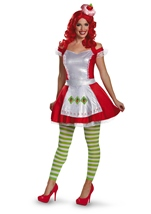 Strawberry Shortcake Woman Deluxe Costume