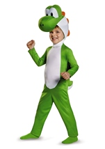 Yoshi Toddler Super Mario Halloween Costume