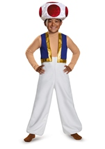 Toad Mario Deluxe Boys Costume