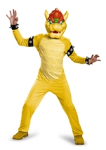 Bowser Super Mario Boys Costume