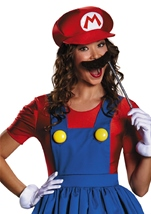 Adult Mario Woman Deluxe Costume