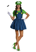 Luigi Woman Deluxe Halloween Costume