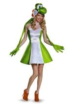 Yoshi Mario Tween Girls Halloween Costume