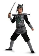 Kids Samurai Muscle Boys Costume