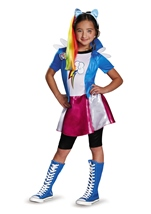 Equestria Rainbow Dash Girls Pony Deluxe Halloween Costume