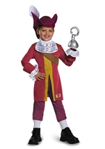 Captain Hook Boys Pirate Costume