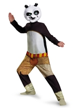 Panda Po Kung Fu Boys Halloween Costume