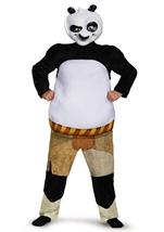Panda Po Kung Fu Muscle Deluxe Boys Halloween Costume