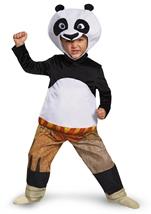 Panda Po Kung Fu Muscle Boys Halloween Costume