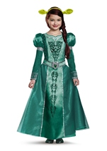 Fiona Princess Deluxe Girls Costume