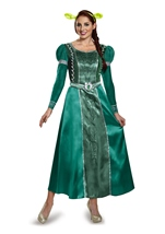 Shrek Fiona Princess Deluxe Woman Costume