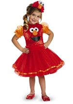 Elmo Tutu Deluxe Girls Costume