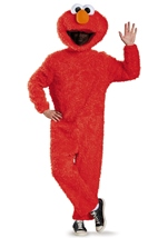 Elmo Plush Deluxe Sesame Adult Costume