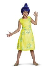Inside Out Joy Girls Costume
