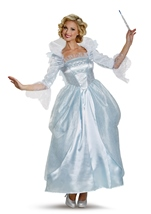 Fairy Godmother Cinderella Movie Prestige Woman Costume