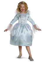 Kids Fairy Godmother Cinderella Movie Girls Costume