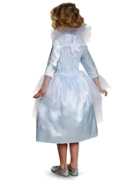 Kids Fairy Godmother Girls Costume