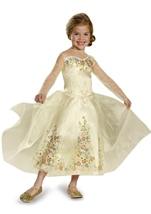 Cinderella Movie Wedding Dress Girls Costume