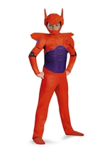 Red Baymax Big Hero 6 Boys Costume