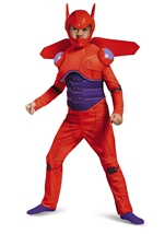Red Baymax Big Hero 6 Boys Deluxe Costume