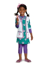 Doc Mcstuffins Pet Vet Girls Costume