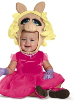 Kids Miss Piggy Toddler Costume