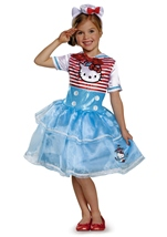 Hello Kitty Sailor Tutu Girls Costume