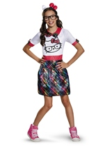 Hello Kitty Nerd Girls Tween Costume