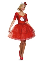 Hello Kitty Woman Deluxe Costume