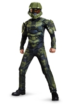 Halo Master Chief Muscle Boys Costume
