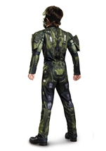 Halo Master Chief Muscle Boys Halloween Costume