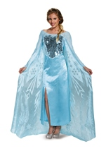 Elsa Prestige Frozen Disney Princess Woman Costume