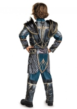 Lothar Warcraft Boys Muscle Halloween Costume