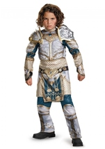 King Llane Warcraft Muscle Boys Costume