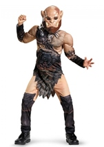Orgrim Warcraft Muscle Deluxe Boys  Costume