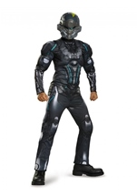 Spartan Halo Locke Boys Muscle Costume