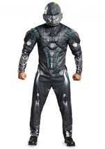 Spartan Locke Halo Men Muscle  Costume