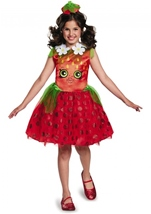 Strawberry Shopkins Girls Costume