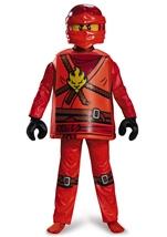 Ninjago Kai Deluxe Boys Lego Halloween Costume