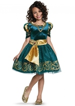 Merida Brave Disney Princess Girls Costume